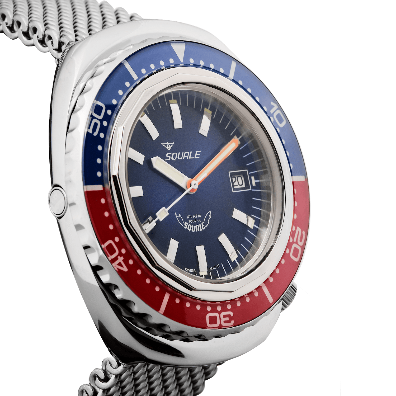 Squale 2002 Blue-Red 2002.SS.BLR.BL.ME22
